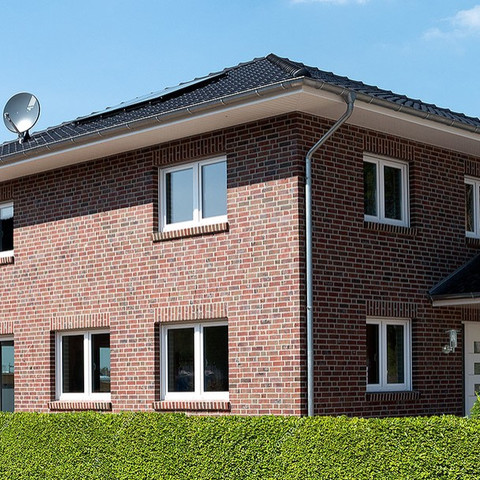 Single-family houses made of Wiesmoor brick