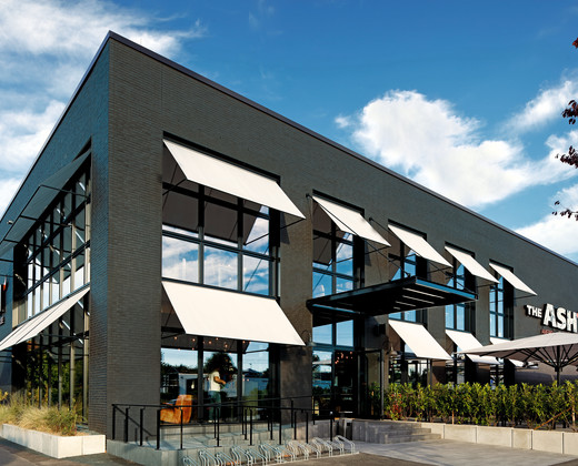 Rustic black – ASH STEAKHAUS chain in TROISDORF